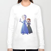 frozen Long Sleeve T-shirts featuring Frozen by Kaori
