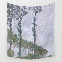 Wind Effect, Series of The Poplars Wall Tapestry