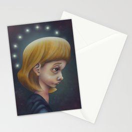 A House on Fire Stationery Cards
