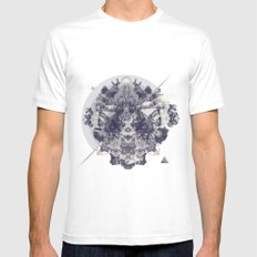 Neptunite Mens Fitted Tee White SMALL