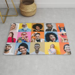 People are awesome Rug