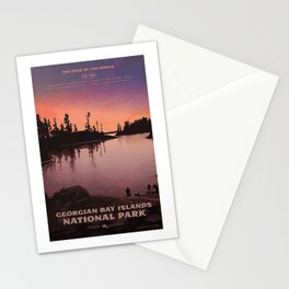 Georgian Bay Islands National Park Stationery Cards