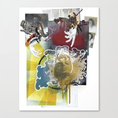 Wingless Angel - Minga Canvas Print