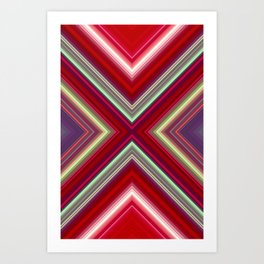 Electronic Ruby Art Print