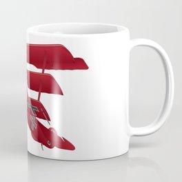 DR-1 Red Baron Triplane WWI Warbird Coffee Mug