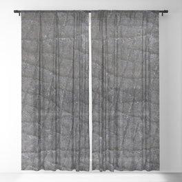 Hip Hippo Ray! Sheer Curtain