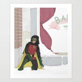 Damian Wayne Art Print