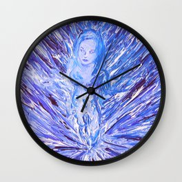 Ice Queen Wall Clock