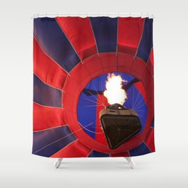 Up, Up, and Away! Shower Curtain