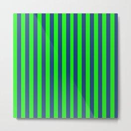Modern Stripes Metal Print