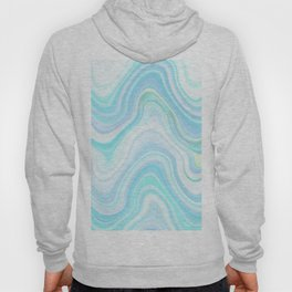 Cool Pastel Blue Lava Marble  #marble #society6 #abstractart Hoody