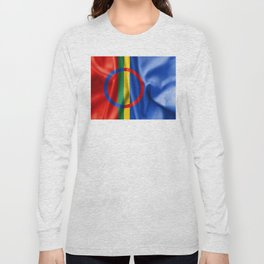 Sami Flag Long Sleeve T-shirt