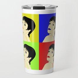 Liza Minnelli Color Pop Travel Mug