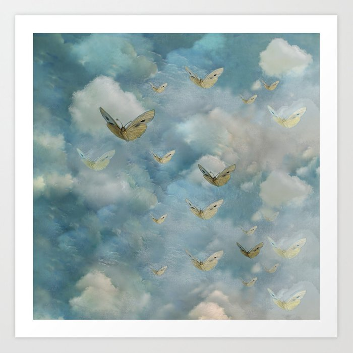"""Heaven & butterflies"" Art Print"