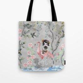 Grey sky Tote Bag