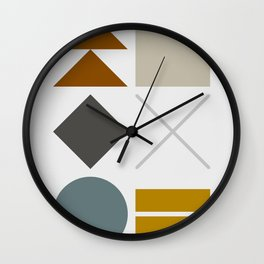 Mid West Geometric 03 Wall Clock