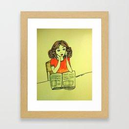 Studious  Framed Art Print