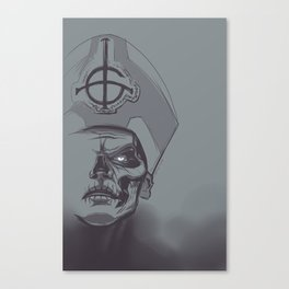 In Papa We Trust Canvas Print