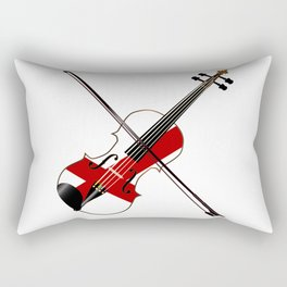 Alabama State Fiddle Rectangular Pillow