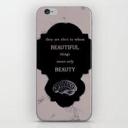 Beautiful Things iPhone Skin