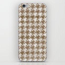 Moose Houndstooth iPhone Skin