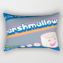 sweet soft and gooey marshmallows Rectangular Pillow