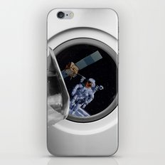 Into the washing mashine iPhone & iPod Skin