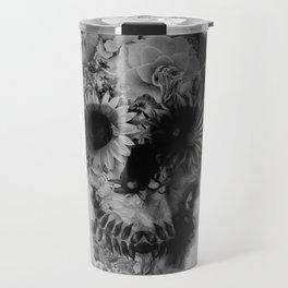 Skull 2 / BW Travel Mug