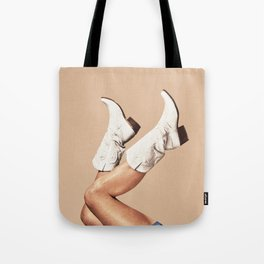 These Boots - Nude Tote Bag