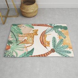Pip+Phee Jungle Horizon Cheetahs - Nursery Art Print Rug