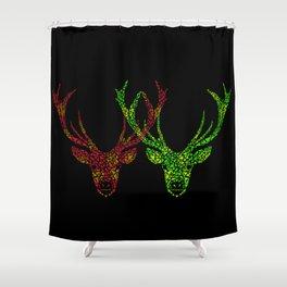 Love Deer  Shower Curtain