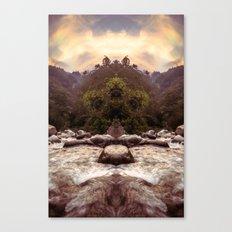 Kaleidoscape: Xela Canvas Print