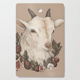 Goat and Figs Cutting Board