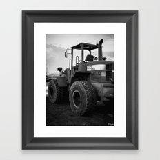 Felix the Dark Beast Framed Art Print