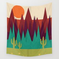 arizona Wall Tapestries featuring Arizona by Kakel