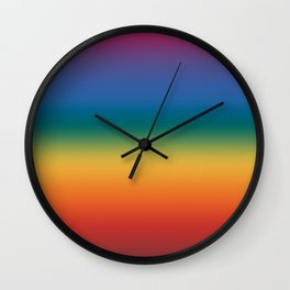 Rainbow 2018 Wall Clock