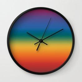 Rainbow 2018 Wall Clock