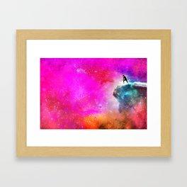 Andy Andromeda Framed Art Print