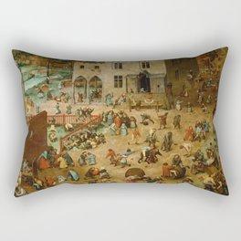 Children's Games Rectangular Pillow