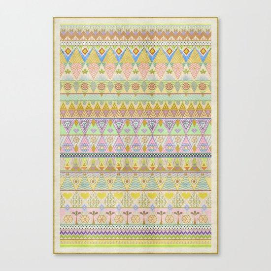 TROPIC THUNDER / PATTERN SERIES 004 Canvas Print