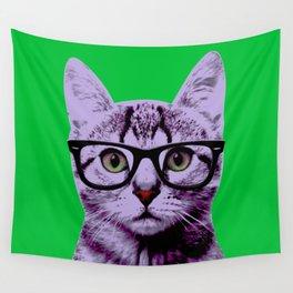 Warhol Cat 3 Wall Tapestry
