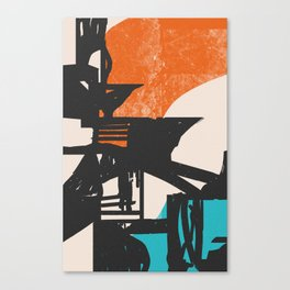 Drained Canvas Print