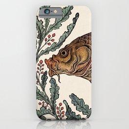 Carp in the Kelp iPhone Case