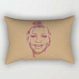 The Queen of Soul Rectangular Pillow