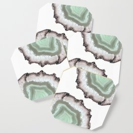 Light Water Agate Coaster