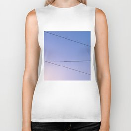 Some Lines Intersect Biker Tank
