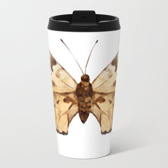 Butterfly 10 Metal Travel Mug