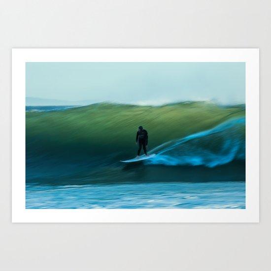The Glide Art Print