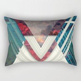 Circle Of Illumination II Rectangular Pillow