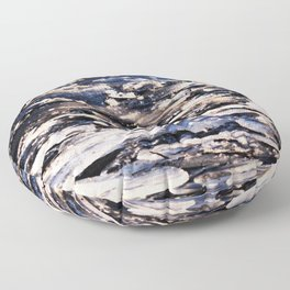 GLASS BOWL OF ICEY WATER Floor Pillow